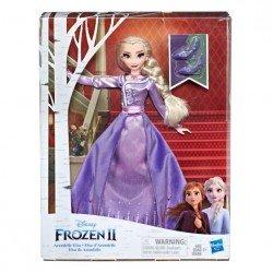 Frozen E6844 Frozen 2 Muñeca de Lujo Elsa de Arendelle Juguete Hasbro