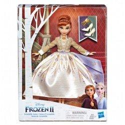 Frozen E6845 Frozen 2 Muñeca de Lujo Anna de Arendelle Juguete Hasbro