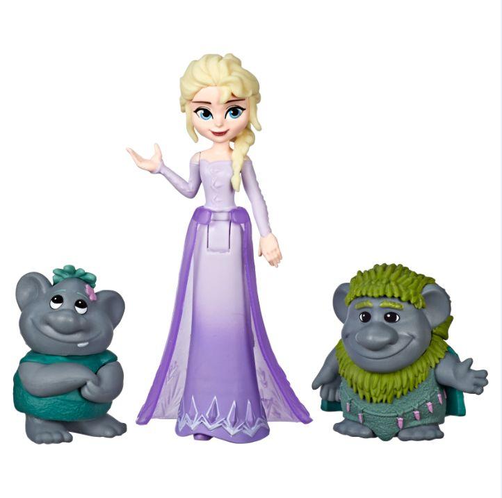 Frozen E5509 Frozen 2 Mini Muñecas con Amigos Juguete Hasbro
