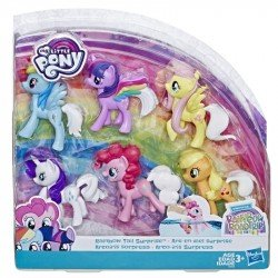 MY LITTLE PONY E5553  Kit Cola Sorpresa de Arcoíris  Juguete Hasbro