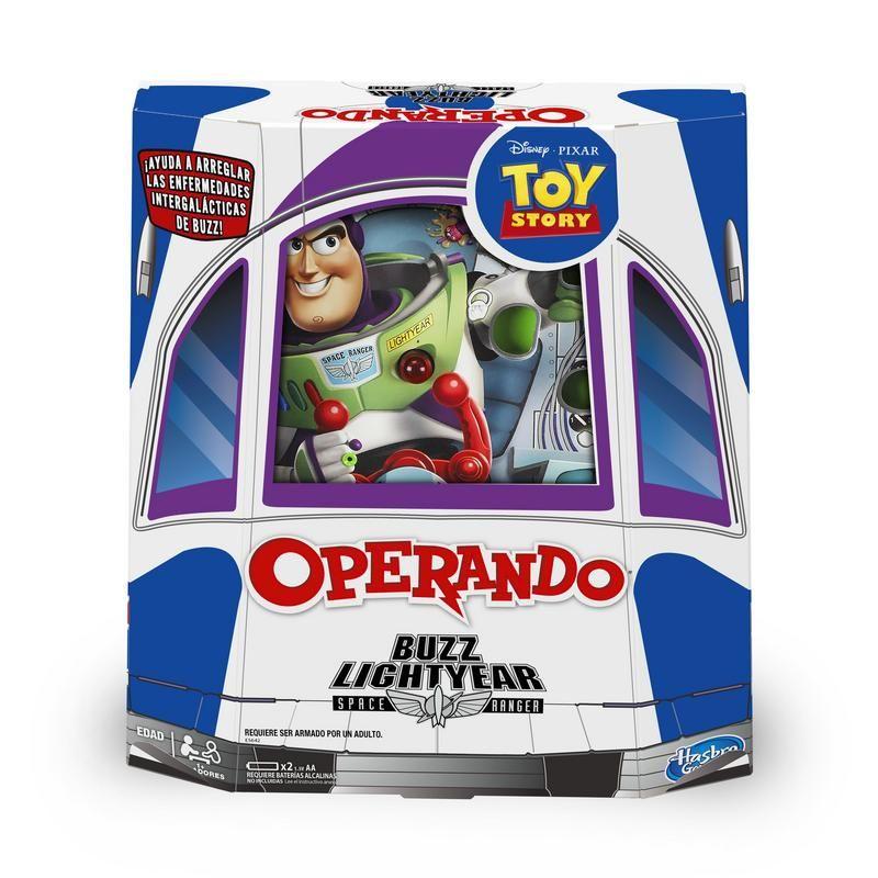 Hasbro Gaming E5642  Operando Buzz Lightyear Juguete Hasbro