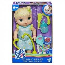 Baby Alive E5834 Muñeca Tiernos Cuidados Rubia