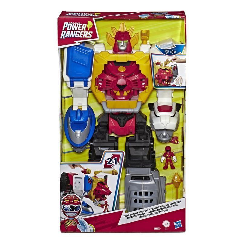 POWER RANGERS E5871 Power Rangers Figuras Playskool Heroes: Morphin Megazord Set Juguete Hasbro