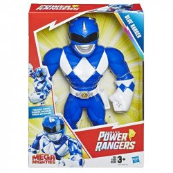 POWER RANGERS E5874 Power Rangers Figura Playskool Heroes Mega Mighty Blue Ranger Juguete Hasbro
