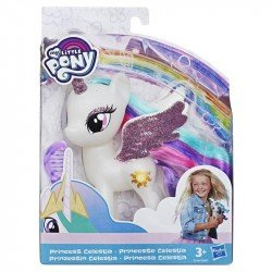 My Little Pony E5964 Figura Princesa Celestia con Brillo 6 Pulgadas My Little Pony