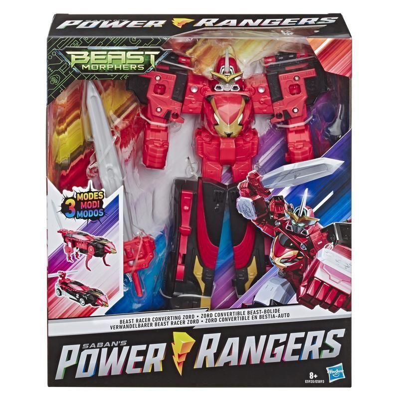 Power Rangers E5921 Power Rangers Zords Triples Convertibles Beast Wrecker Juguete Hasbro