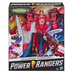 Power Rangers E5920 Power Rangers Zords Triples Convertibles Beast Racer Juguete Hasbro