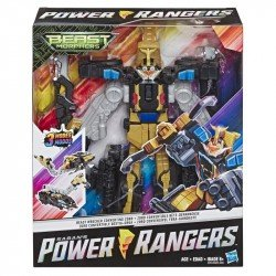 Power Rangers E5921 Power Rangers Zords Triples Convertibles Beast Wrecker Juguete Hasbro