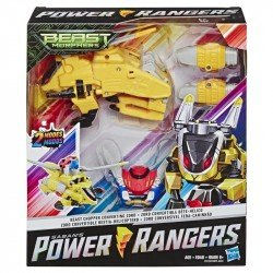 Power Rangers E5923 Power Rangers Zords Dobles Convertibles  Helicoptero Hasbro