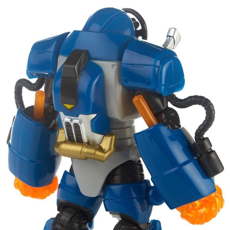 Power Rangers E5928 Figura Steel Robot 6 Pulgadas Deluxe  Smash