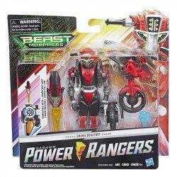 Power Rangers E5927 Figura Steel Robot 6 Pulgadas Deluxe  Cruise