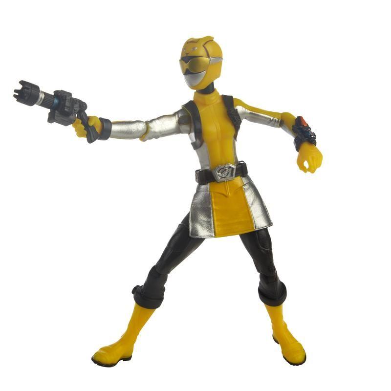 Power Rangers  Figura 6 Pulgadas con Accesorios