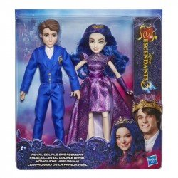 Disney Girls E6042 Disney Descendientes 3 Muñeca Ben y Mal  Juguete Hasbro
