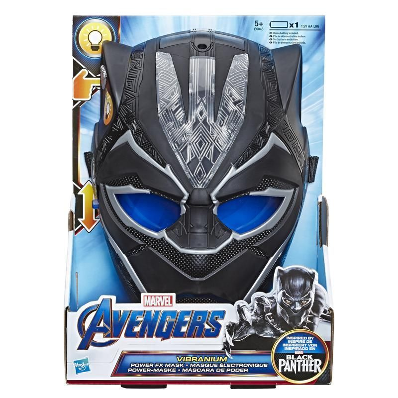 Marvel E6046  Máscara Electrónica SFX Black Panther Juguete Hasbro