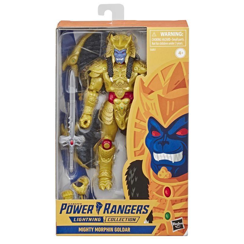 Power Rangers E6051 Power Rangers E6051 Power Rangers Lightning Collection: Mighty Moprhin Goldar Juguete Hasbro