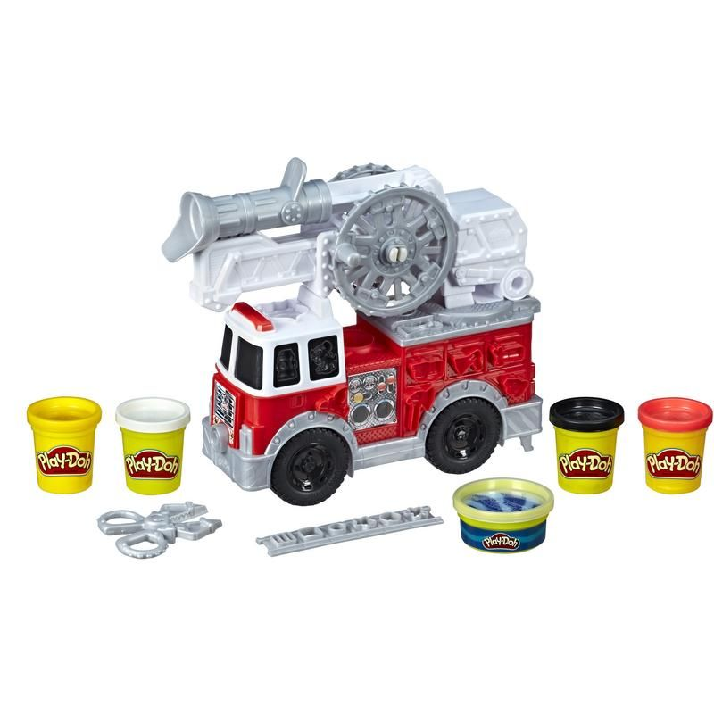 Play Doh E6103 De Juguete Bomberos Wheels Camión Hasbro 0N8vmnw