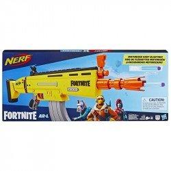 NERF E6158 Lanzadardos Fortnite AR-L  Elite -- Lanzador de juguete motorizado Juguete Hasbro