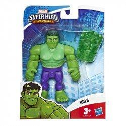 Playskool Heroes Super Hero Adventures Figuras de Acción Coleccionables de 5 pulgadas Hulk