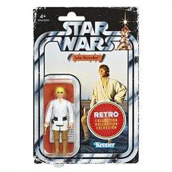 Star Wars E6266  Figuras Retro Power of the Force Luke Skywalker Juguete Hasbro