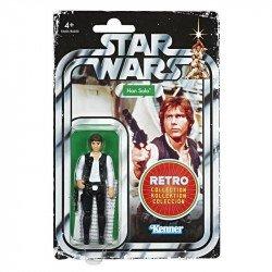 Star Wars E6601  Figuras Retro Power of the Force Han Solo Juguete Hasbro