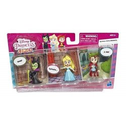Disney Princesas Comic Pack de 3 - Momentos en la Historia Set 2