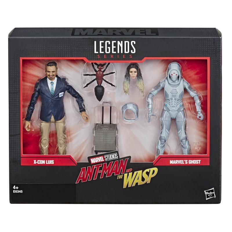 MARVEL E6345 Marvel 80 Aniversario Ant Man & The Wasp 2 Pack  Juguete Hasbro