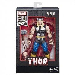 MARVEL E6348 Marvel 80 Aniversario Thor Design Alex Ross Juguete Hasbro