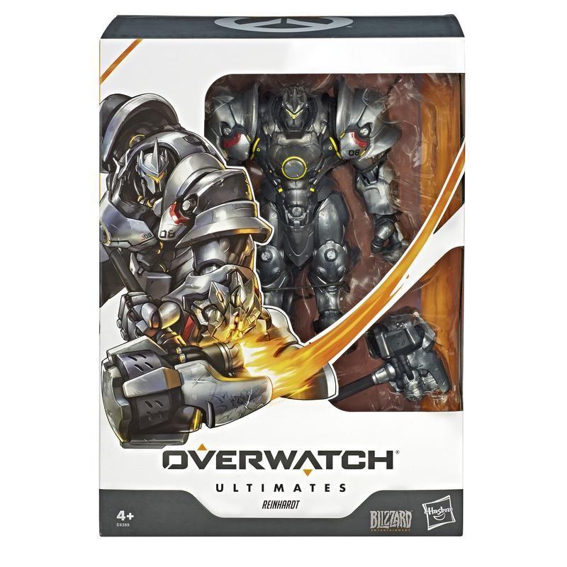Overwatch E6389 Figuras Overwatch Ultimates Reinhardt Juguete Hasbro