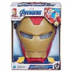 MARVEL E6502 Marvel Avengers Máscara Iron Man con Efectos de Sonido Juguete Hasbro