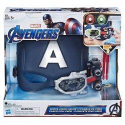 Marvel E6507 Marvel Casco con Visión Capitán América Juguete Hasbro