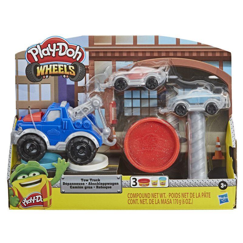 Play Doh E6690 Play-Doh Wheels Set de Juego Camión Grúa