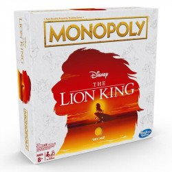 Monopoly E6707 Juego de Mesa Monopoly Rey Leon Juguete Hasbro