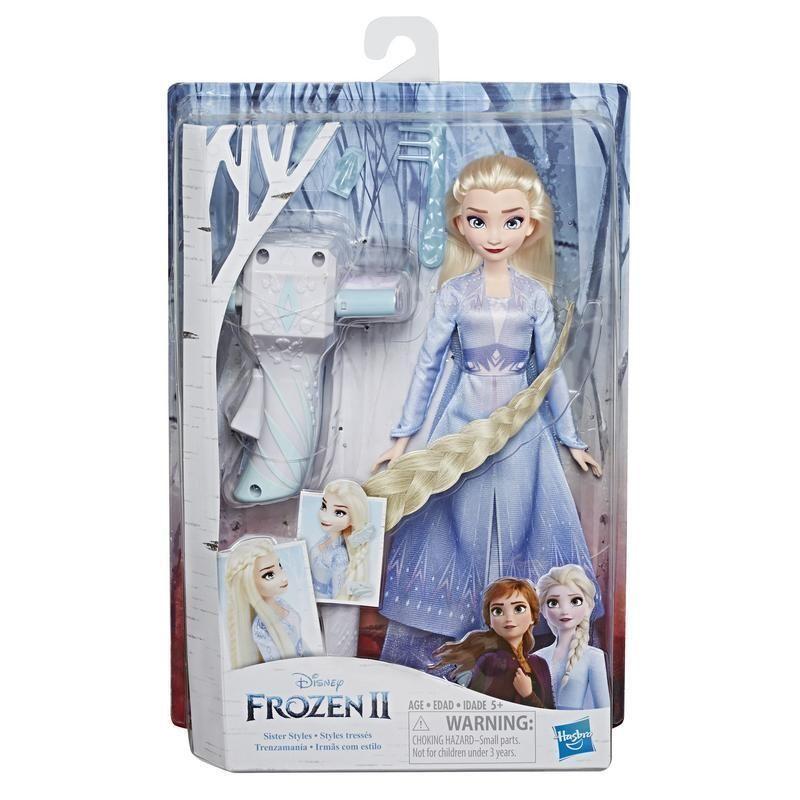 Hasbro E6950 Frozen 2 Muñecas Juego de Cabello