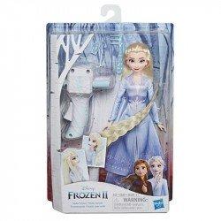 Hasbro E7002 Frozen 2 Trenzamanía Juguete Hasbro Elsa