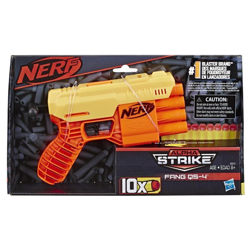 Nerf E6973 Nerf Fang QS 4 Juguete Hasbro