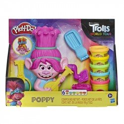 Play Doh E7022 Play-Doh Trolls World Tour - Poppy