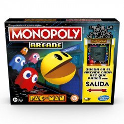 Juego de Mesa Monopoly E7030 Arcade Pac-Man