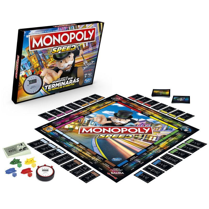Monopoly E7033 Monopoly Speed Juego de Mesa