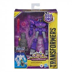 Transformers E7098 Transformers Bumblebee Cyberverse Adventures Shockwave