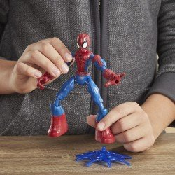 Marvel E7335 Spiderman Bend And Flex Figura de Acción de 6 Pulgadas