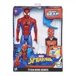Marvel E7344 Marvel Spider-Man Titan Hero Series Blast Gear Figura de 12 pulgadas Juguete Hasbro