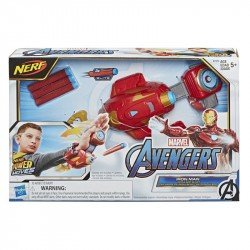 Marvel E7376 Marvel Avengers Power Moves Lanzador Rayo Repulsor de Iron Man Juguete Hasbro