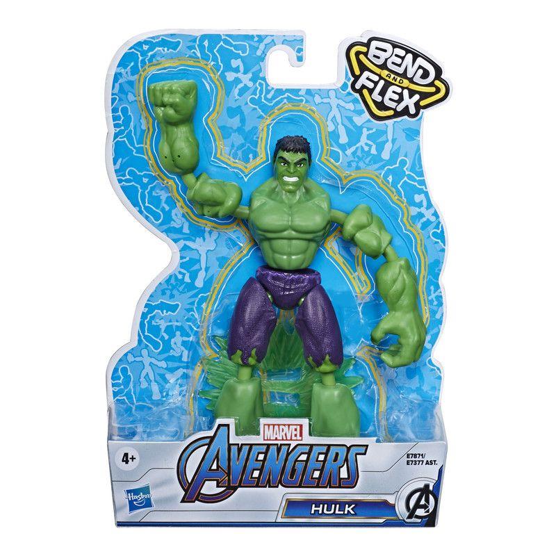 Marvel E7377 Avengers Bend And Flex Figura de Acción de 6 Pulgadas