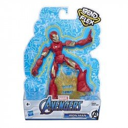 Marvel Avengers Bend And Flex Figura de Acción de 6 Pulgadas ? Iron Man