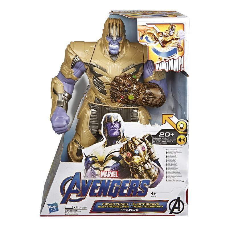 Marvel E7406 Marvel Avengers Figura Deluxe Thanos  Juguete Hasbro
