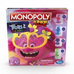 Monopoly E7496 Monopoly Jr Trolls Juego de Mesa