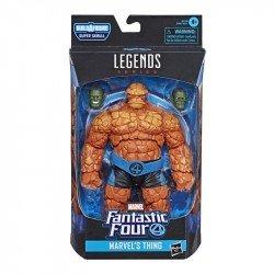 Marvel Fantastic Four Legends Figura 6 pulgadas  - Marvel's Thing