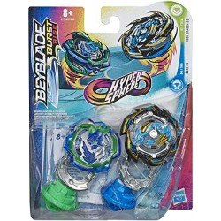 Beyblade Hypersphere Dual Pack Ace - Dos Tops Beyblade - Rock Dragon D5 y Ogre O5