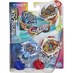 Beyblade Hypersphere Dual Pack Ace - Dos Tops Beyblade - Erase Devolos D5 y Astro A5