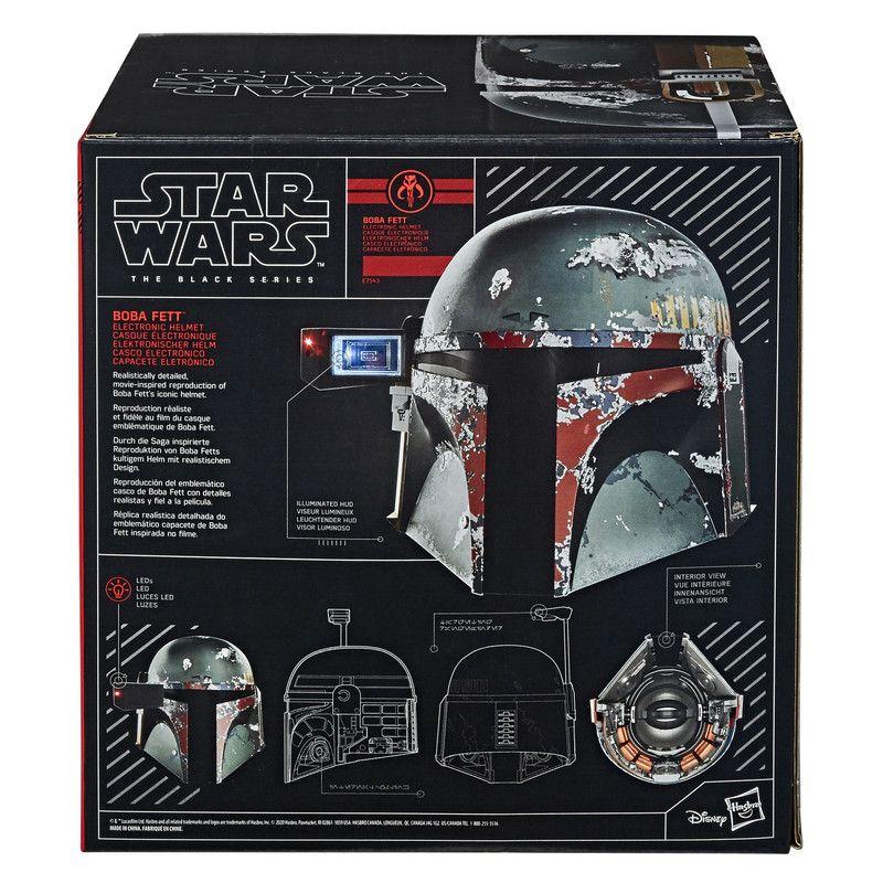 Hasbro Star Wars E7543 Casco Electrónico Premium de Boba Fett